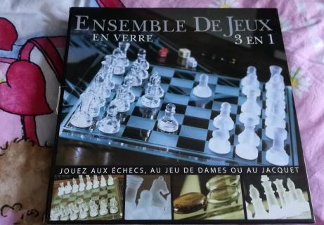 Jeu d échecs 3en1 1