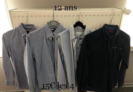 Chemises enfants 1