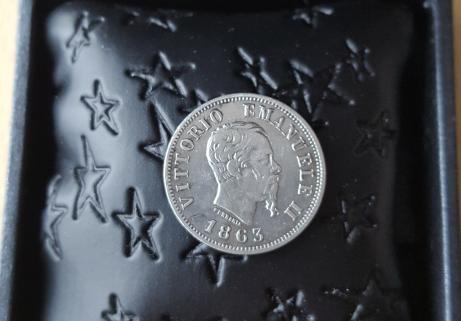 50 centesimi 1963 argent Italie 2