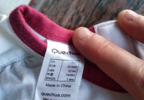 T shirt Quechua 1 an 2