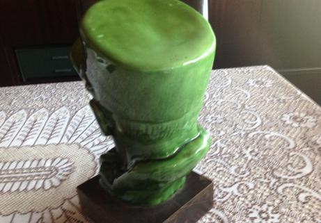 Tête de légionnaire en ceramique 2