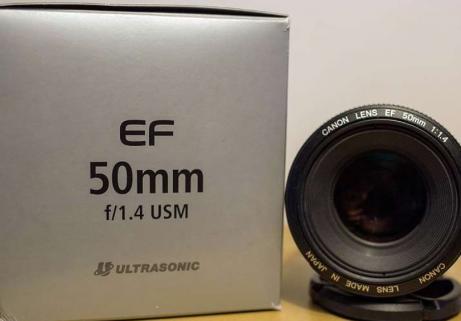 Objetctif Canon EF 50mm 1
