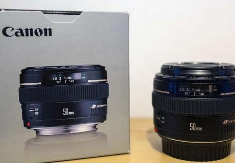 Objetctif Canon EF 50mm 2