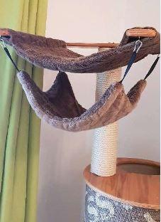 Arbre à chat en bois très stable 2