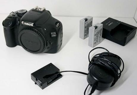 Ap photo Canon EOS 550D 1