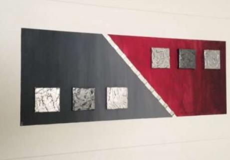 Peinture acrylique 50cm x 100cm 1
