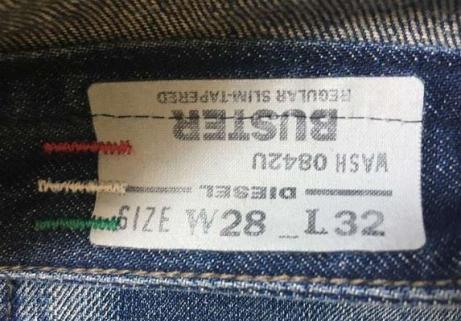 Jeans Diesel Buster 28/32 2