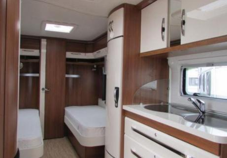 Caravane Hobby 540 WLU 4
