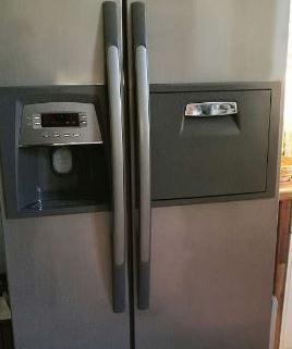 Réfrigérateur américain à double porte 1