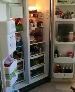 Réfrigérateur américain à double porte 2