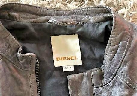 Veste en cuir Diesel 2