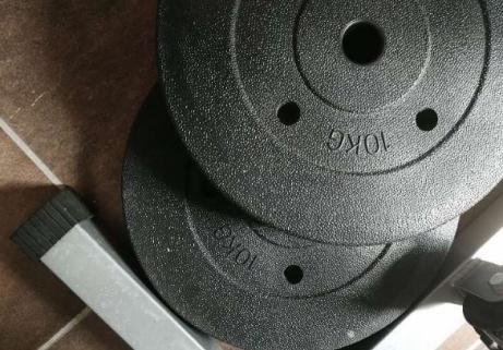 Station de musculation avec poids 3