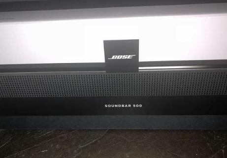 Bose SoundBar Touch 500 1