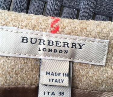 Jupe plissée Burberry 2