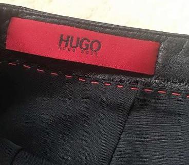 Jupe en cuir de Hugo Boss 3