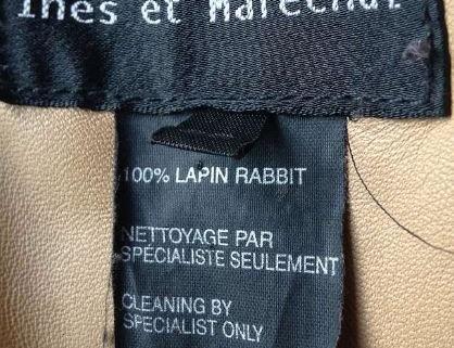 Manteau Lapin Élégant Taille 38 2