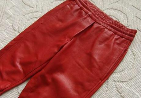 Pantalon en cuir Barbara 2