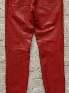 Pantalon en cuir Barbara 4