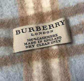 Burberry écharpe en cachemire 1