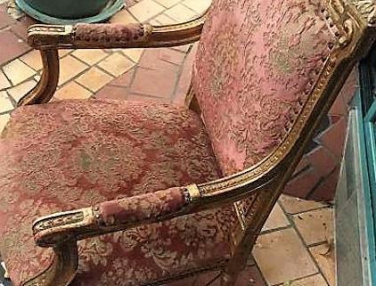 Fauteuil baroque 2