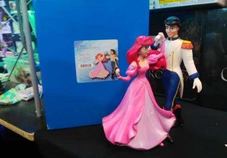 statue Ariel et Eric 1
