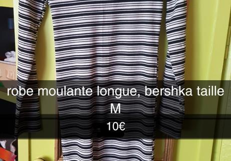 robe longue moulante 1