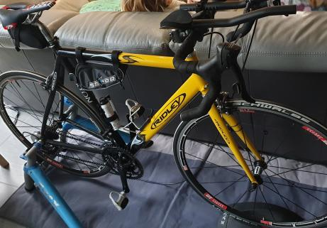 Velo triathlon+home trainer tacx 1