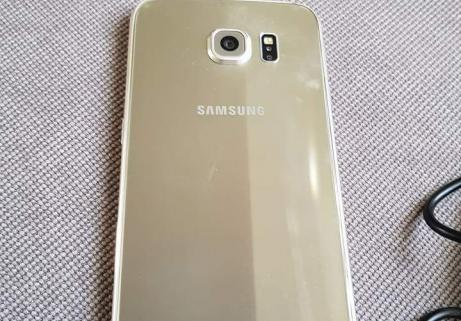 Samsung Galaxy s6 gold état impeccable 3