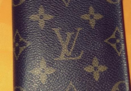 Portefeuille Louis Vuitton cuIr 1