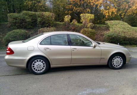 Mercedes classe E 200 CDI 4