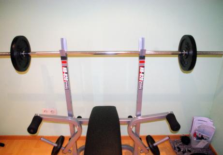 Banc de musculation Nordic Fitness NB-820 + accessoires 2