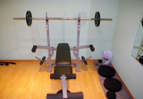 Banc de musculation Nordic Fitness NB-820 + accessoires 4