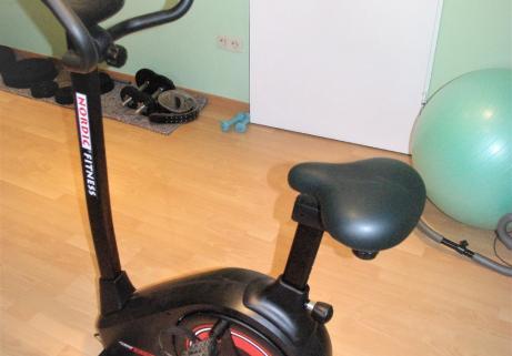"""Vélo Home trainer Magnétique """"classe A"""" Ergomètre Nordic Fitness NC 6165B 1"""