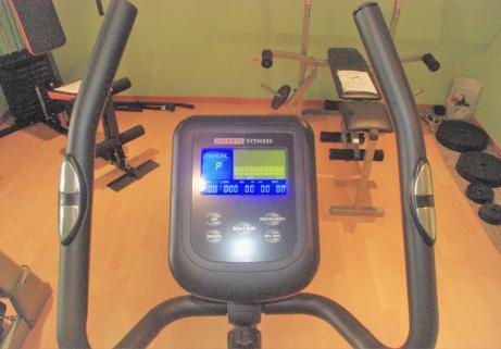 """Vélo Home trainer Magnétique """"classe A"""" Ergomètre Nordic Fitness NC 6165B 2"""