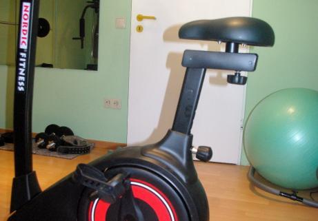 """Vélo Home trainer Magnétique """"classe A"""" Ergomètre Nordic Fitness NC 6165B 3"""