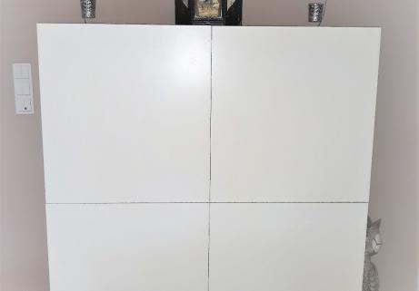 Meuble Blanc 4 portes 1