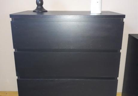 Meuble Brun 4 tiroirs 1