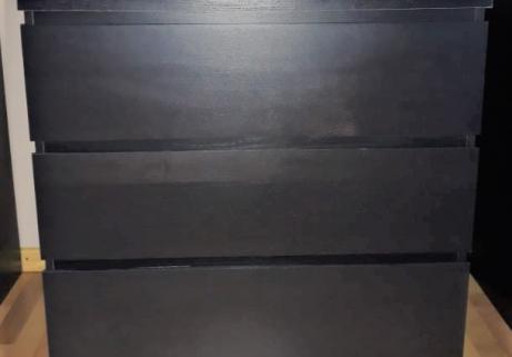 Meuble Brun 3 tiroirs 1