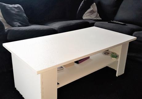 Table basse Blanc salon 2