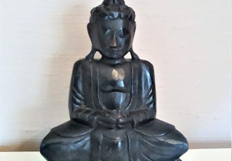 Statue Buddha en résine 1