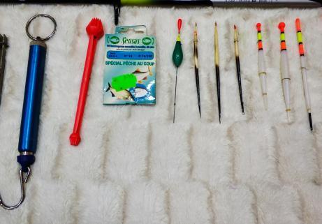 Lot matériel de pêche 3