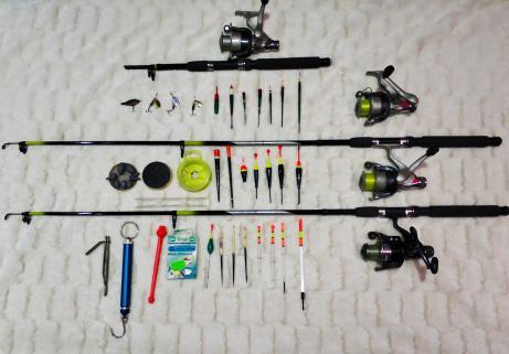 Lot matériel de pêche 1
