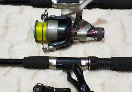 Lot matériel de pêche 2