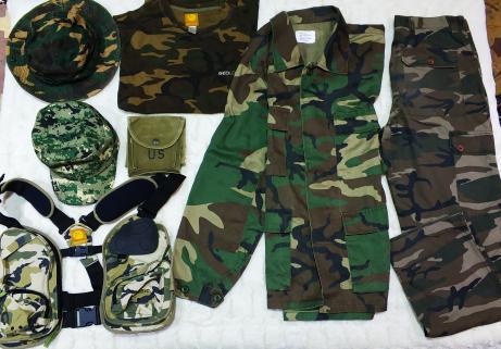 Lot de vêtements militaire taille M 1