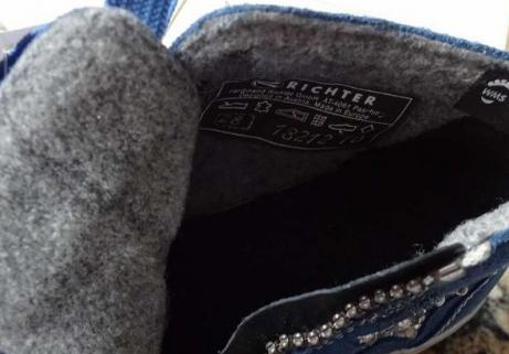 Nouvelles chaussures Richter 28 3