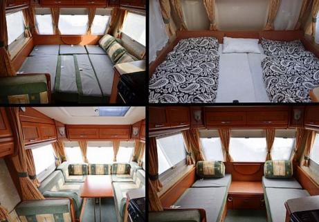 Caravane Swift - Bessacarr Cameo 525 SL 2