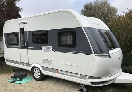 Caravane Hobby - De Luxe 455 UF 1