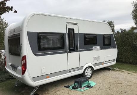 Caravane Hobby - De Luxe 455 UF 2
