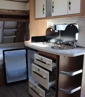 Caravane Hobby - De Luxe 455 UF 3