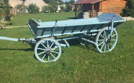 Chariot à en bois 1940 2